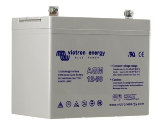 Victron Agm Battery 12v 90ah Onboardenergy