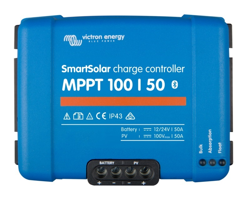 Smart Solar Charge Controller Mppt 100 50 Onboardenergy